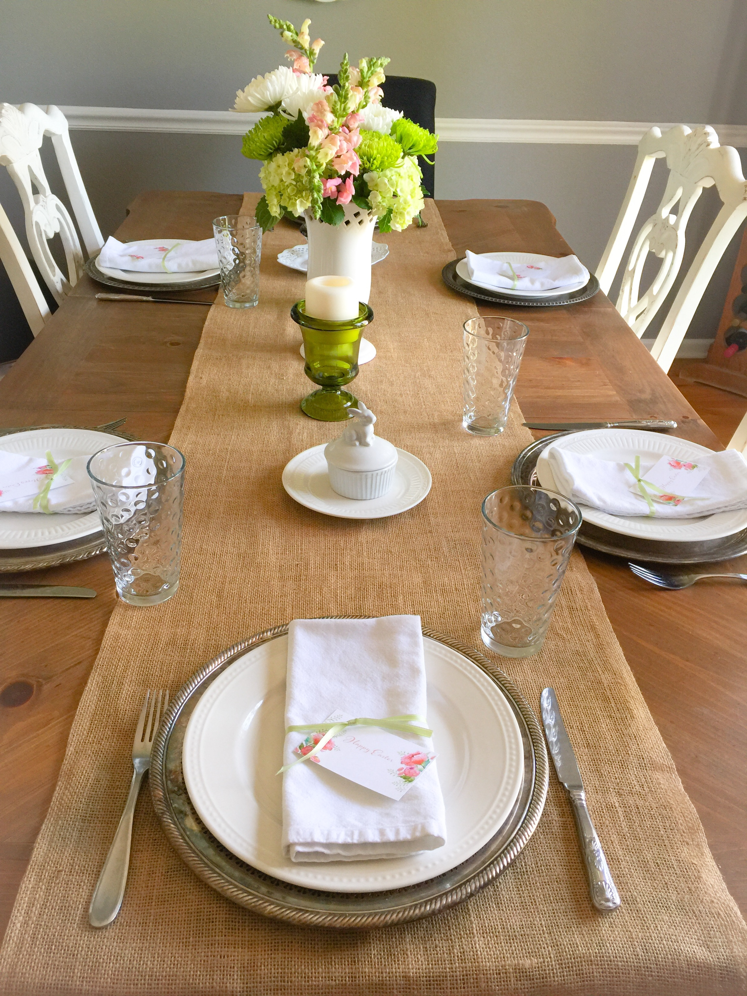 A Simple Pastel Easter Table & My Gift To You